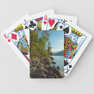 Jeu De Cartes Côte de Teton de lac jenny