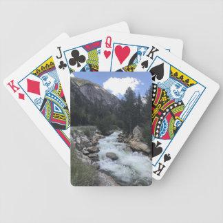 Jeu De Cartes Courant de montagne rocheuse