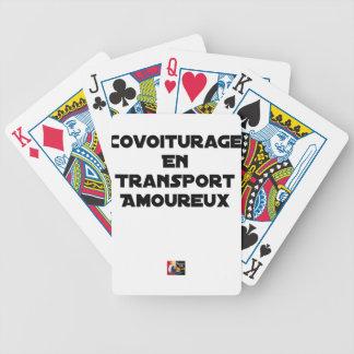 Jeu De Cartes COVOITURAGE EN TRANSPORT AMOUREUX - Jeux de mots