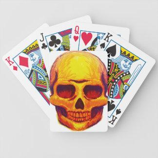 Jeu De Cartes Crâne de croquis