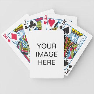 Jeu De Cartes Créez vos propres cartes de jeu de bicyclette
