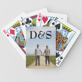 Jeu De Cartes Créez vos propres cartes de jeu de photo de
