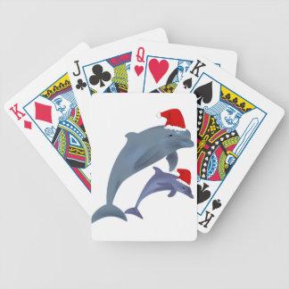 Jeu De Cartes dauphins de père Noël