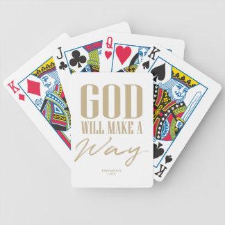 Jeu De Cartes Dieu fera une manière