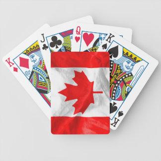 Jeu De Cartes Drapeau canadien