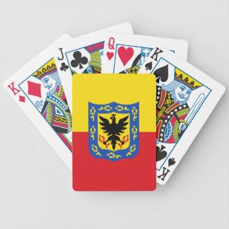 Jeu De Cartes Drapeau de Bogota, Colombie