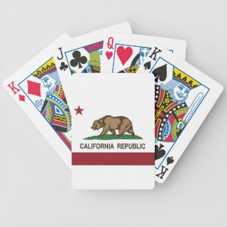 Jeu De Cartes Drapeau de la Californie