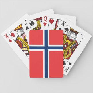 Jeu De Cartes Drapeau de la Norvège