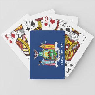 Jeu De Cartes Drapeau de l'état de New-York pour des cartes de