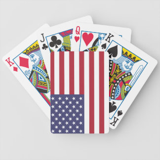 Jeu De Cartes Drapeau des Etats-Unis