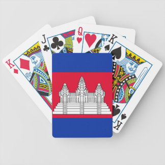 Jeu De Cartes Drapeau du Cambodge
