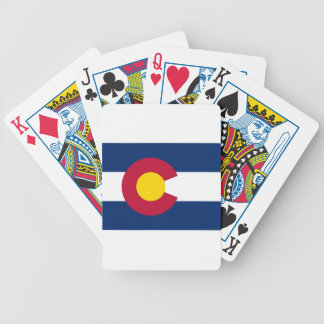 Jeu De Cartes Drapeau du Colorado