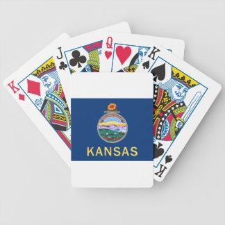 Jeu De Cartes Drapeau du Kansas