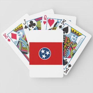 Jeu De Cartes Drapeau du Tennessee