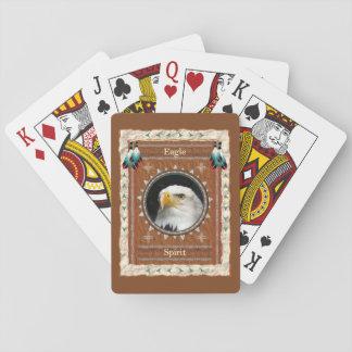 Jeu De Cartes Eagle - cartes de jeu classiques d'esprit