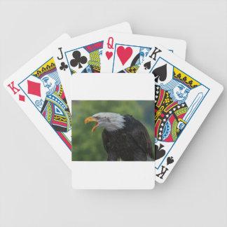 Jeu De Cartes Eagle noir blanc pendant la journée
