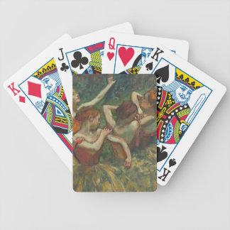 Jeu De Cartes Edgar Degas | quatre saisons dans l'une tête,