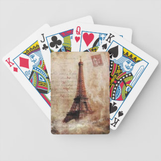 Jeu De Cartes Eiffel Tower vintage Paris