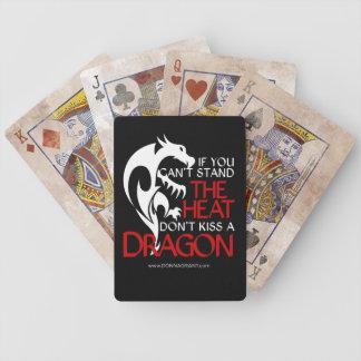 Jeu De Cartes Embrassez les cartes de jeu de dragon