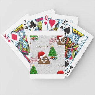 Jeu De Cartes emoji de poo de Joyeux Noël