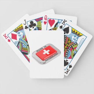 Jeu De Cartes Fabriqué en Suisse
