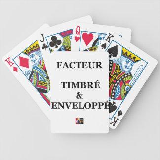 Jeu De Cartes FACTEUR TIMBRÉ et ENVELOPPÉ - Jeux de Mots