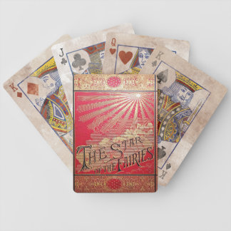 Jeu De Cartes Falln l'étoile de la couverture de livre de fées
