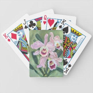 Jeu De Cartes Fleur d'orchidée