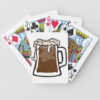 Jeu De Cartes Flotteur de bière de racine