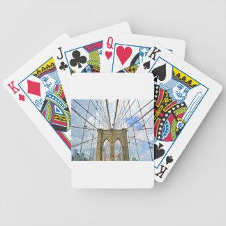 Jeu De Cartes Fondation de ville de New York Brooklyn de pont