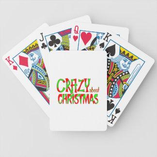 Jeu De Cartes Fou au sujet de Noël