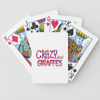 Jeu De Cartes Fou au sujet des girafes