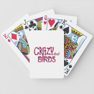 Jeu De Cartes Fou au sujet des oiseaux