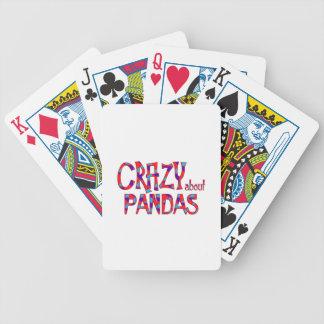 Jeu De Cartes Fou au sujet des pandas