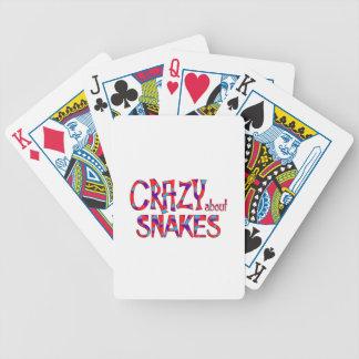 Jeu De Cartes Fou au sujet des serpents