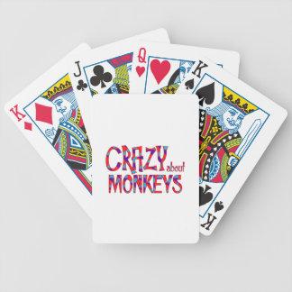Jeu De Cartes Fou au sujet des singes