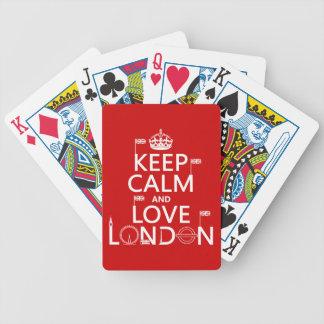 Jeu De Cartes Gardez le calme et aimez Londres