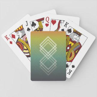Jeu De Cartes Géométrique se fanent les cartes de jeu