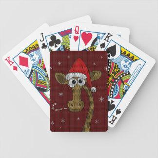 Jeu De Cartes Girafe de Noël