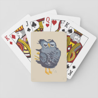 Jeu De Cartes Grandes cartes de jeu de hibou