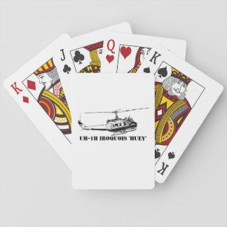 Jeu De Cartes Hélicoptère d'Iroquois de la carte UH-1H