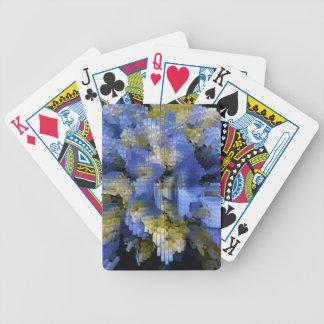 Jeu De Cartes Hortensia bleu