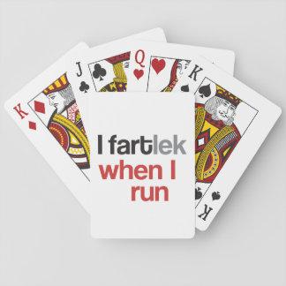 Jeu De Cartes I FARTlek quand je cours le © - FARTlek drôle