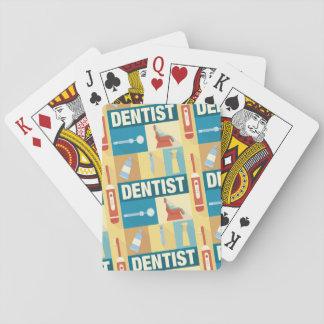 Jeu De Cartes Iconique professionnel de dentiste conçu