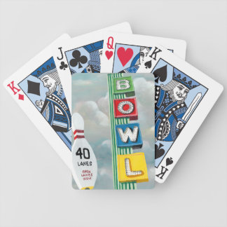 Jeu De Cartes Illustration de bowling