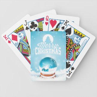 Jeu De Cartes Illustration de Joyeux Noël et de bonne année