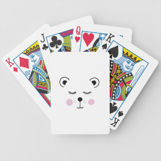 Jeu De Cartes Illustration mignonne d'ours