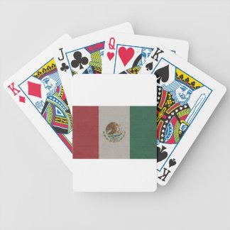 Jeu De Cartes International de drapeau du Mexique