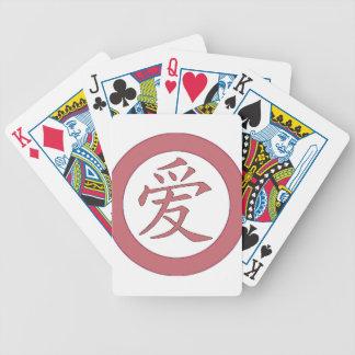 Jeu De Cartes Japonais - 爱 chinois d'amour