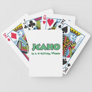 Jeu De Cartes JCAHO est un mot 4-Letter